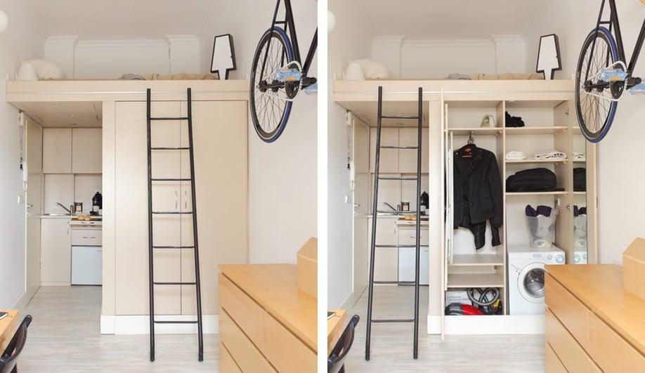 Tiny apartments: Szymon Hanczar