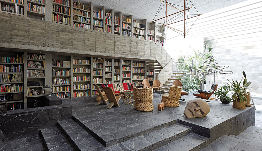 Mexican Artist Pedro Reyes Turns His Home into a Living Sculpture