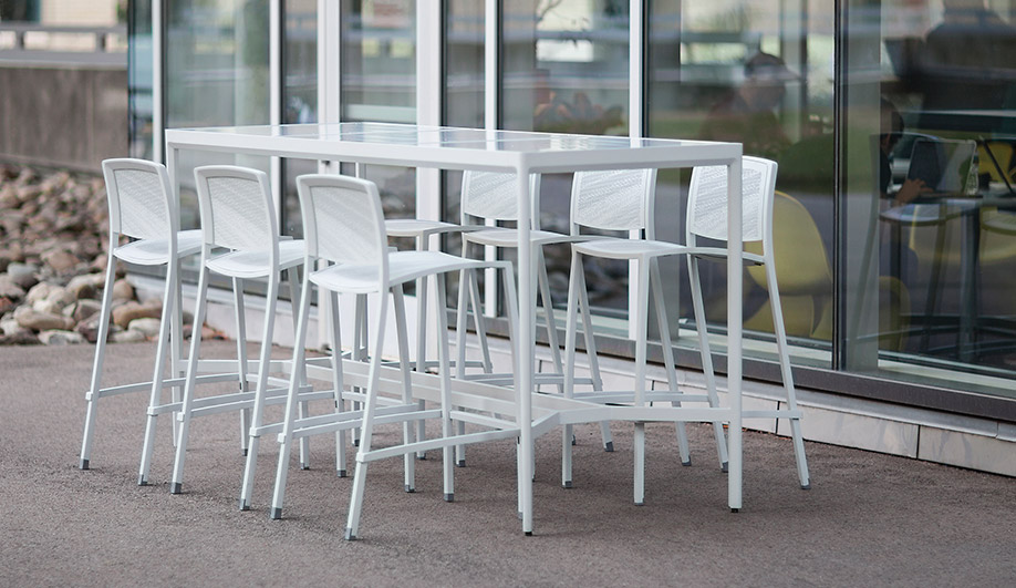 Avivo Bar Stools by Forms+Surfaces