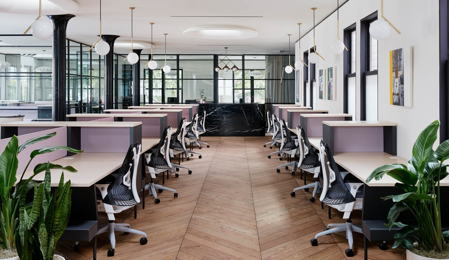 Inspiring co-working spaces: Canopy