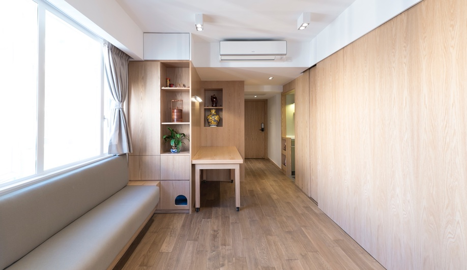 Tiny apartments: DEFT