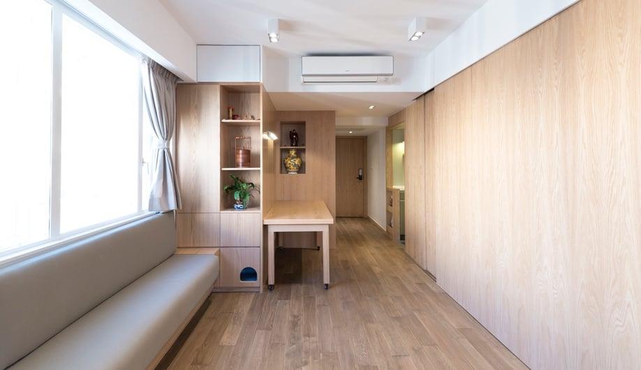 Tiny apartments: DEFT