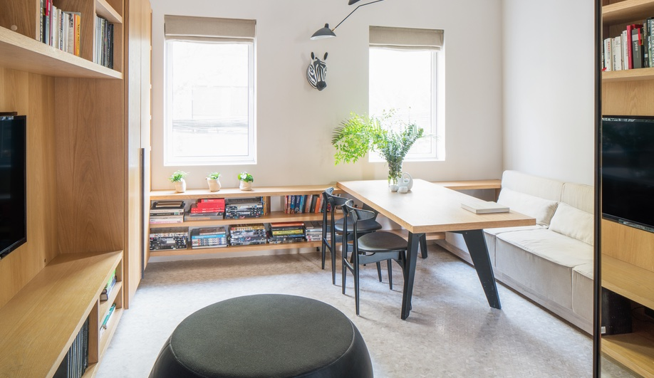 Tiny apartments: More Design Office