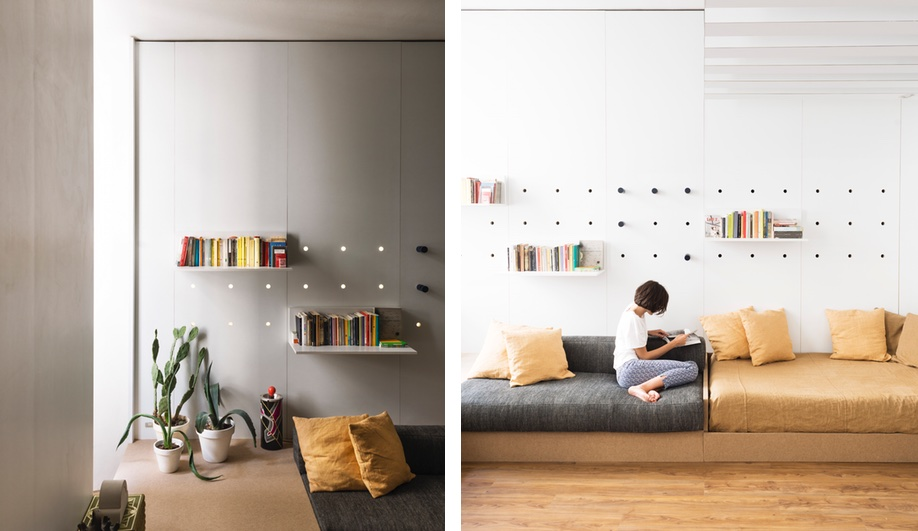 Tiny apartments: Silvia Allori