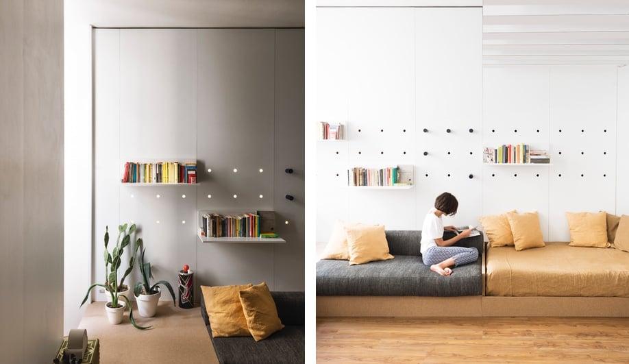Tiny apartments: Silvia Allori
