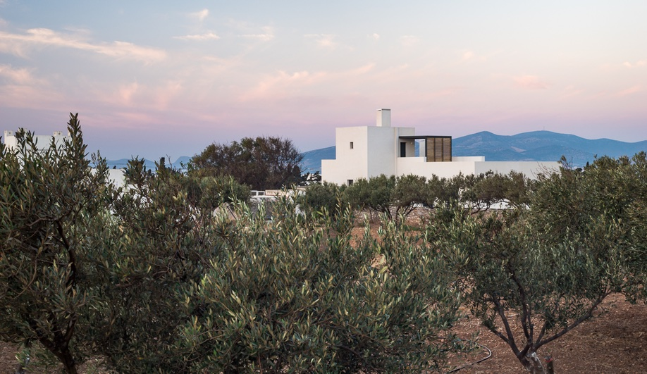 Kampos House on the island of Paros