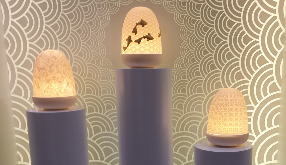 Lladro's Dome lamps
