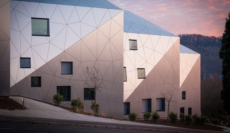 Metaform Architects Creates a Futuristic Housing Complex in Luxembourg