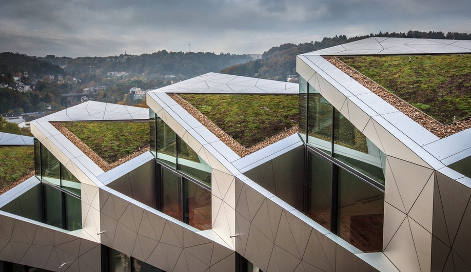 Metaform Architects: Luxembourg collective housing