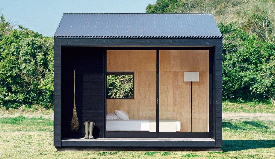 Muji's Minimalist Prefab Cabin Hits the Market