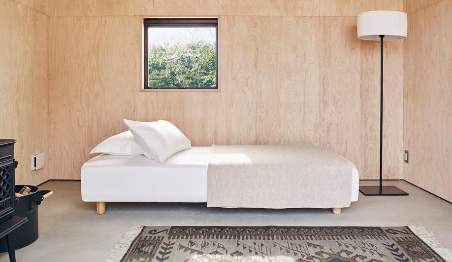 Muji Hut interior