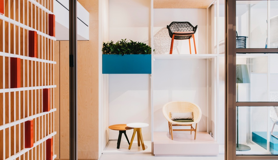 Kettal showroom by Patricia Urquiola