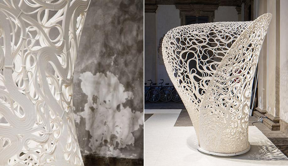 White designs at Milan Design Week 2017: Zaha Hadid Architects