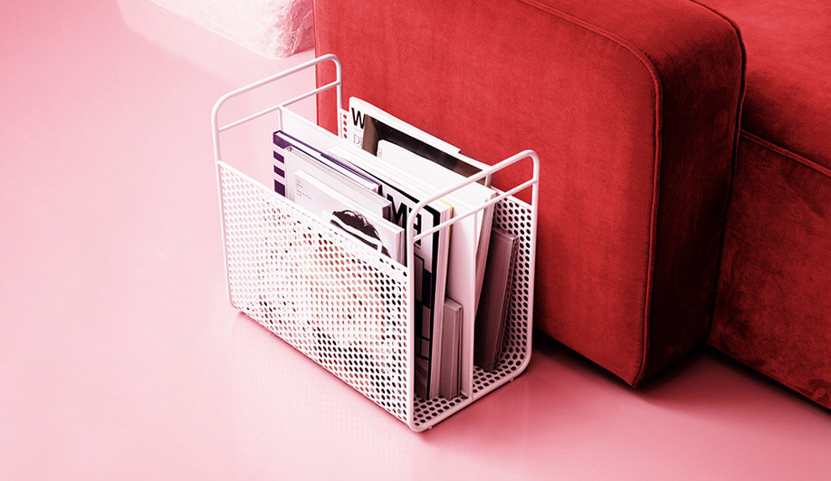 Analog Magazine Rack by Normann Copenhagen