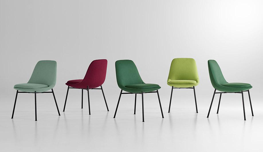 Chloe Side Chair by Bernhardt Design