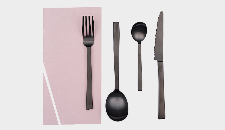 Maarten Baas Cutlery Set by Valerie Objects