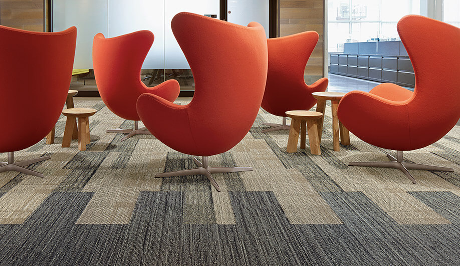 SummerHouse Carpet Tiles by Interface
