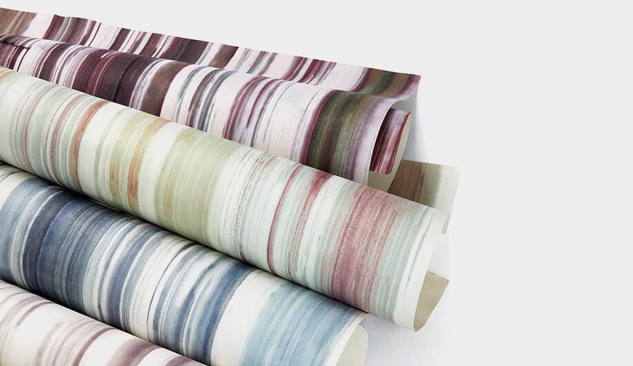 Watercolour Wallcovering by Innovations