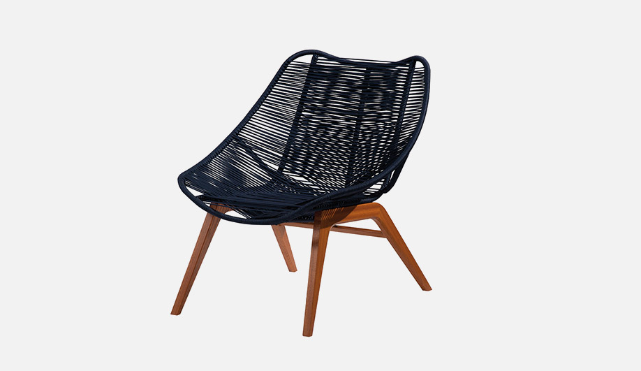 Wishbone Outdoor Lounge Chair