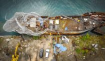 A Warship Is Reborn as an 'Art Reef' in the British Virgin Islands