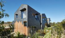Slate Tile Patterns Define This Australian House