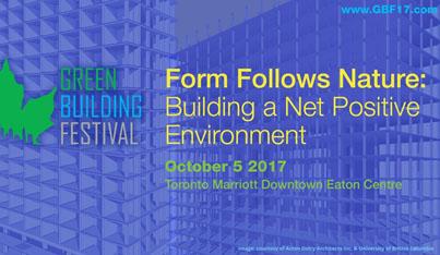 Green Building Festival 2017