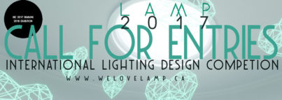 LAMP 2017 Lighting Design Competition