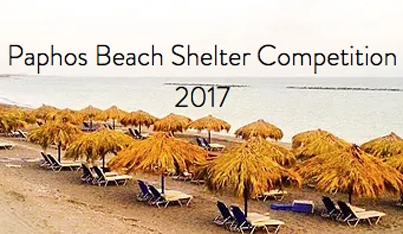 Paphos Beach Shelter Competition 2017