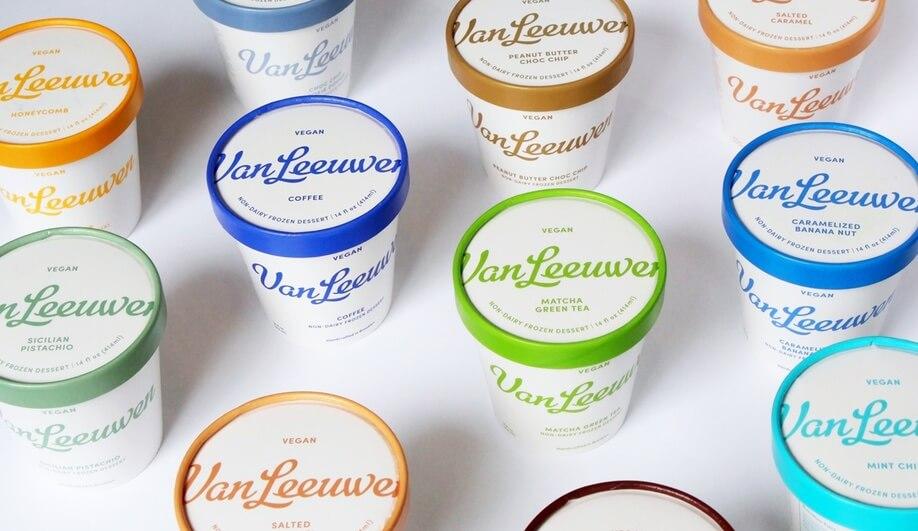 Van Leeuwen ice cream redesign by Pentagram