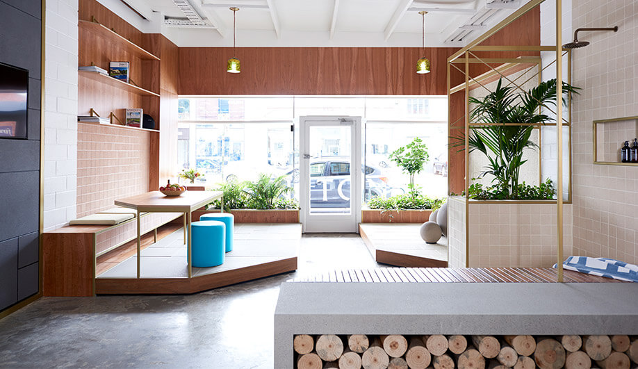 This Melbourne Showroom Flaunts the Beauty of Concrete Materials