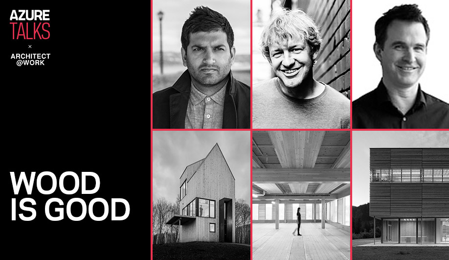 Hear Architect Michael Green In Toronto Next Week On Why