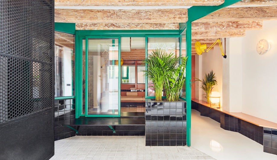 A Squatting House Turned Cheerful Abode in Barcelona