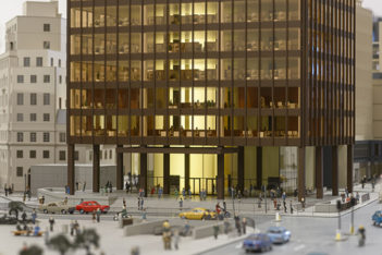 Mies van der Rohe + James Stirling: Circling the Square