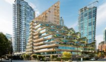 Shigeru Ban's Vancouver Timber Tower Pays Tribute to Arthur Erickson