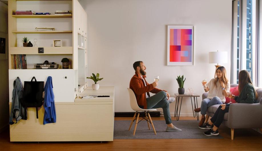 Ori Robotic Furniture Yves Behar MIT 7 Azure