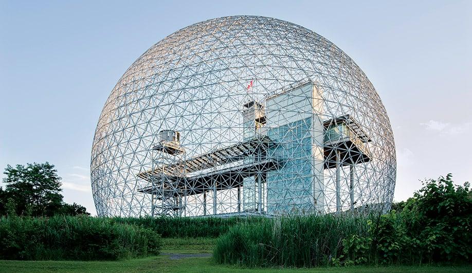 Buckminster Fuller's Montreal Biosphere Still Resonates at 50