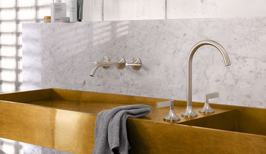 faucets pull chrome down ultra mixer big faucet dornbracht tara product spray single lever
