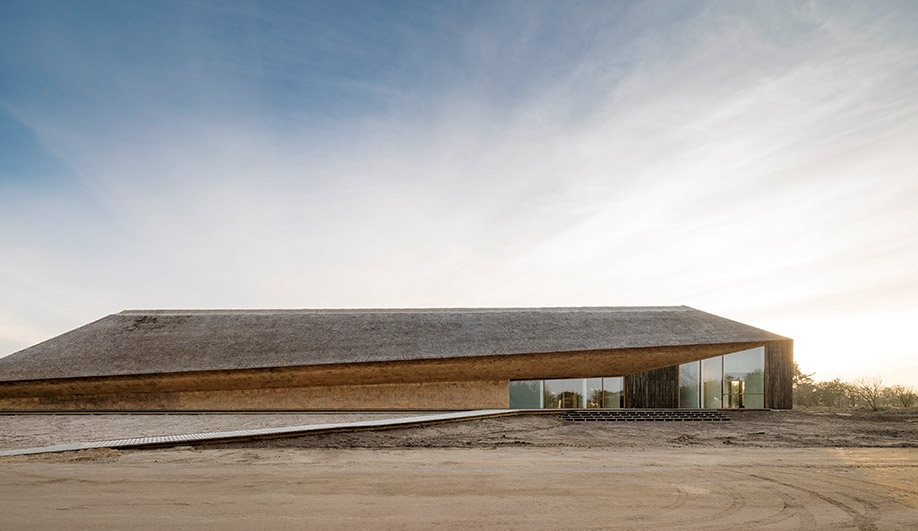 The Serene Wadden Sea Centre in Denmark