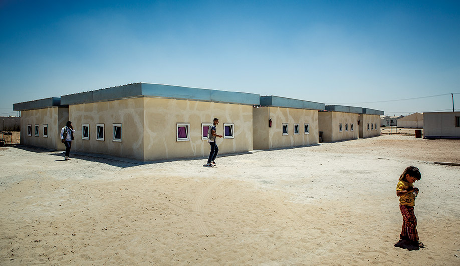A Better Way to Design Refugee Shelters