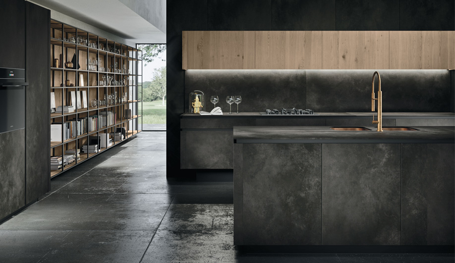 Way kitchen by snaidero azure magazine for Snaidero kitchen