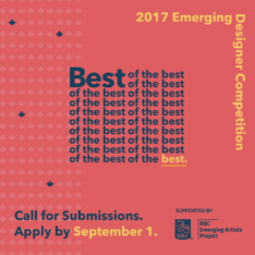 Design Exchange: Emerging Designer Competition