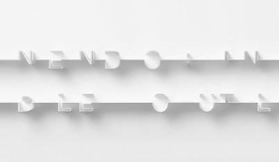 nendo: invisible outlines