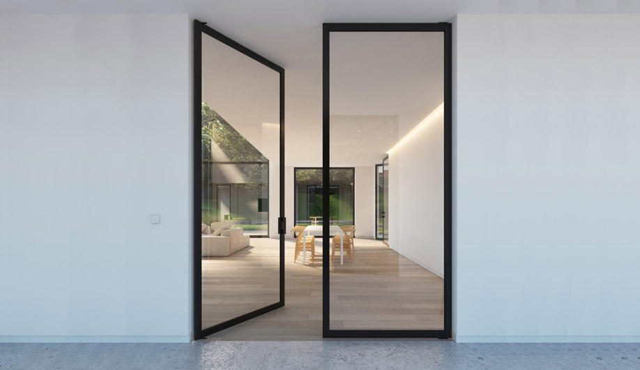6530 XL Pivoting Door by Portapivot