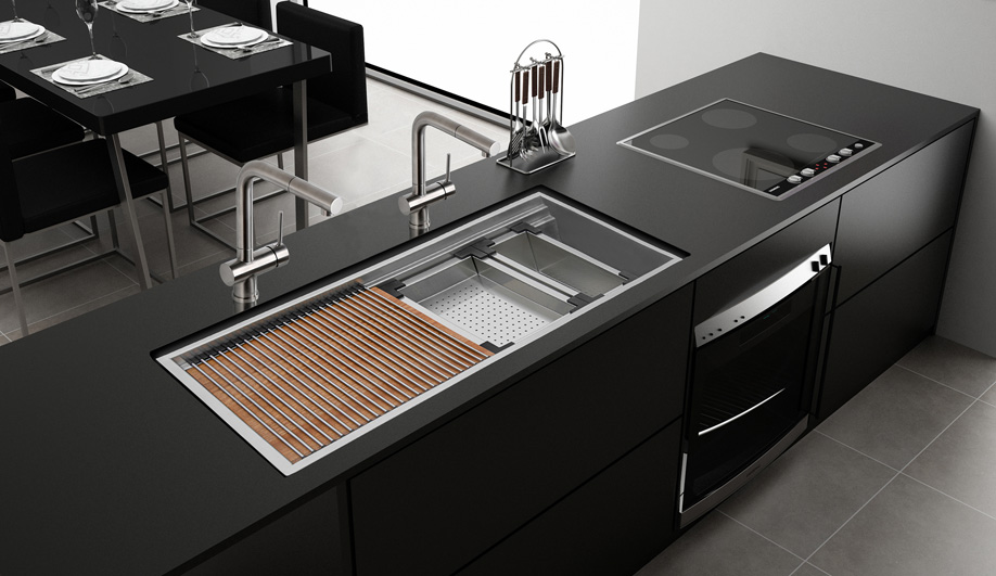 Workstation Sink by Ruvati