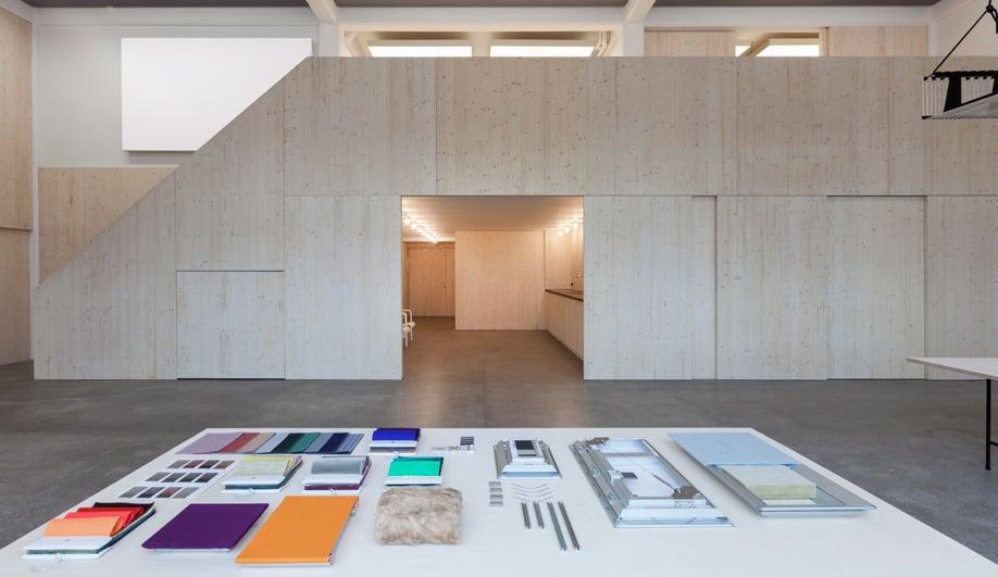 Caruso St John Transforms Warehouse for Kvadrat Soft Cells