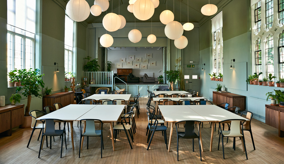 Ilse Crawford Designs Soup Kitchen Refettorio Felix