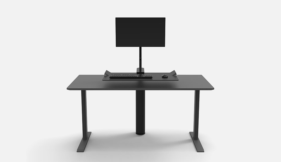 QuickStand Under Desk by Humanscale