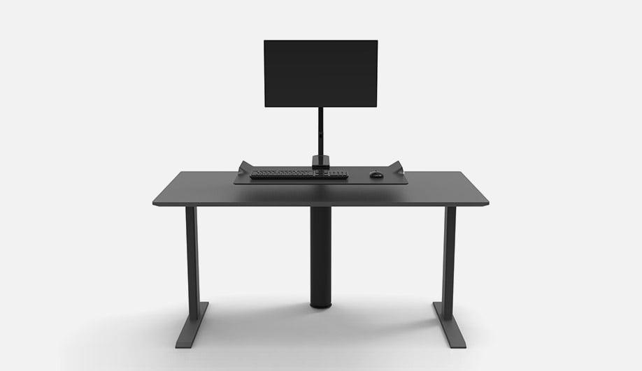 QuickStand Under Desk by Humanscale