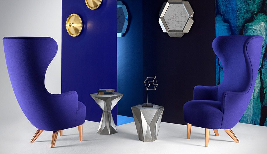 Micro Wingback Chair by Tom Dixon