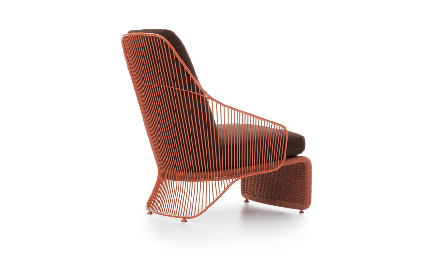 Colette Outdoor Armchair by Minotti